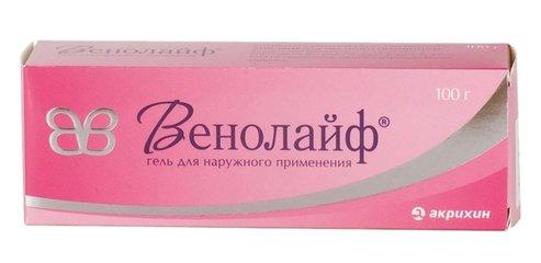 Венолайф - фото упаковки
