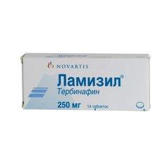 Ламизил таблетки противогрибковые - фото упаковки