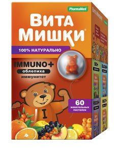 ВитаМишки® Immuno + облепиха - фото упаковки