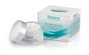 Наоми маска для лица антивозр. с коллаг. д/всех типов кожи