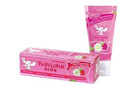 Twin lotus паста зубн. д/детей клубника и ромашка