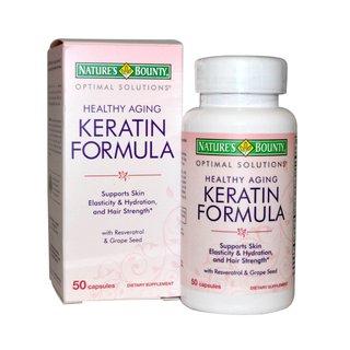 Нэйчес баунти кератин формула
