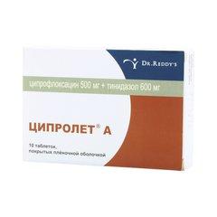 Ципролет а - фото упаковки