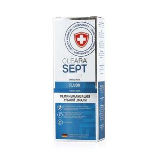 Clearasept зубная паста fluor «реминерализация зубной эмали»