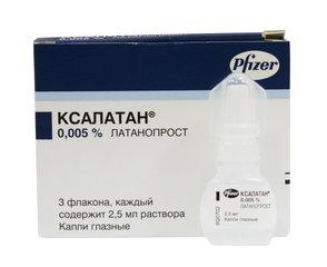 Ксалатан гл.кап. 0,005%-2,5мл.фл. n3 - фото упаковки