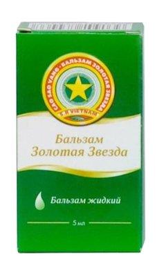 Золотая звезда бальзам жидкий - фото упаковки