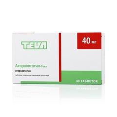 Аторвастатин-Тева - фото упаковки