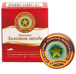 Золотая звезда бальзам - фото упаковки