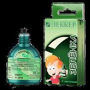 Зелёнка ЛЕККЕР + с мягкой кисточкой