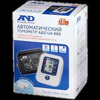 AND UA-888 AC тонометр автоматический с адаптером