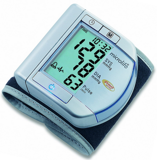 Микролайф BP W100 тонометр автоматический на запястье