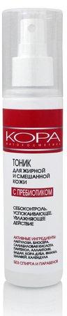 Kora тоник для жирной и смешанной кожи с пребиотиком