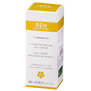 REN CLARIMATTE Гель-крем восстанавливающий баланс для комбинированной кожи
