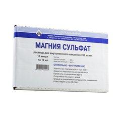 Магния сульфат - фото упаковки