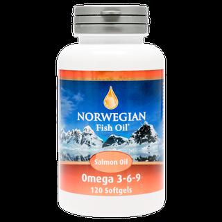 NFO Омега-3 масло лосося
