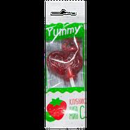 Юмми Карамель леденцовая с витамином С Клубника