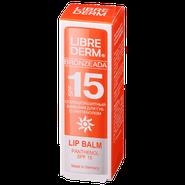 Librederm Bronzeada бальзам для губ с пантенолом
