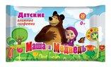 Салфетки влажные Маша и Медведь