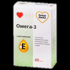 GrossHertz Омега-3 с витамином Е - фото упаковки