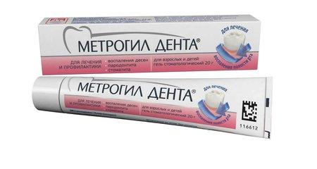 Метрогил Дента - фото упаковки