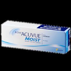 Линза контактная Acuvue 1-DAY Moist BC=8,5 -1,25