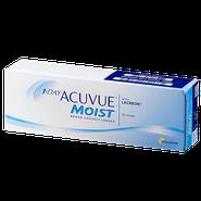 Линза контактная Acuvue 1-DAY Moist BC=8,5 -2,00
