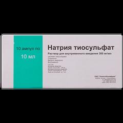 Натрия тиосульфат - фото упаковки