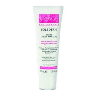 Урьяж Толедерм крем для лица увлажняющий успокаивающий для нормальной и чувствительной кожи
