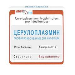 Церулоплазмин - фото упаковки