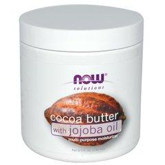 NOW масло Какао органическое