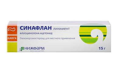 Синафлан нижфарм линимент - фото упаковки