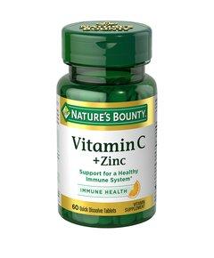 Нэйчес баунти витамин с + цинк