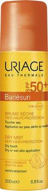 Uriage Bariesun дымка-спрей сухая SPF 50+