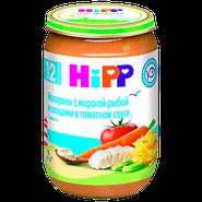 Хипп Макароны с морской рыбой и овощами в томатном соусе с 1-го года
