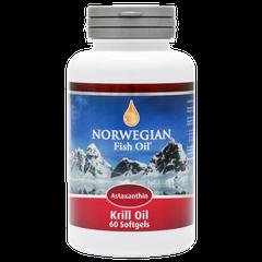 NFO Норвегиан фиш Омега-3 масло криля