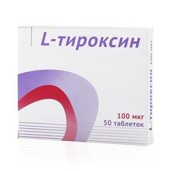 L-Тироксин Озон - фото упаковки