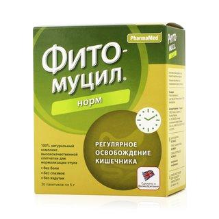 Диет формула фитомуцил норм (порошок, 30 шт, 5 гр) цена, купить.