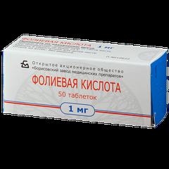 Фолиевая кислота - фото упаковки