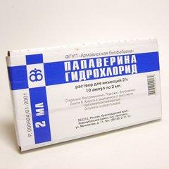 Папаверина гидрохлорид - фото упаковки