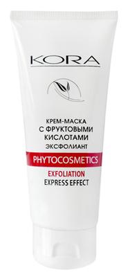 Kora крем маска эксфолиант с фруктовыми кислотами