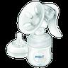 Авент Молокоотсос ручной (бутылочка 125мл, соска в дорожном контейнере, крышка-заглушка силиконовая ) (арт. 86840/86810)