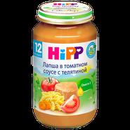 Хипп Лапша в томатном соусе с телятиной