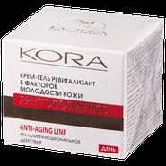 Kora 5 факторов молодости кожи крем-гель ревитализант