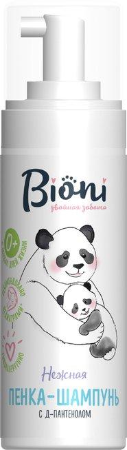 Bioni Детская пенка-шампунь