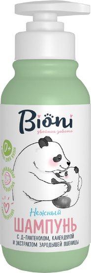 Bioni Шампунь для младенцев с календулой и экстрактом зародышей пшеницы