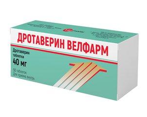 Дротаверин Велфарм таблетки - фото упаковки