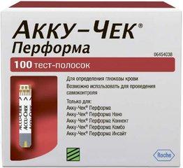 Акку-Чек Перформа тест-полоски