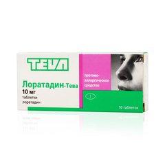 Лоратадин-Тева - фото упаковки