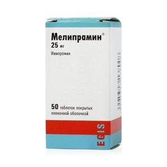 Мелипрамин - фото упаковки