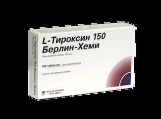 L-Тироксин Берлин-Хеми - фото упаковки
